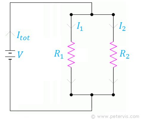 resistors in parallel equation derivation resistors in parallel
