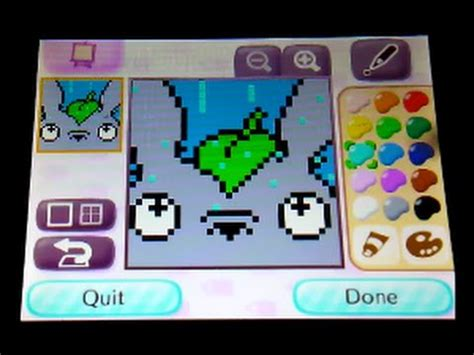 Acnl Design Vorlagen Totoro Qr Animal Crossing New Leaf