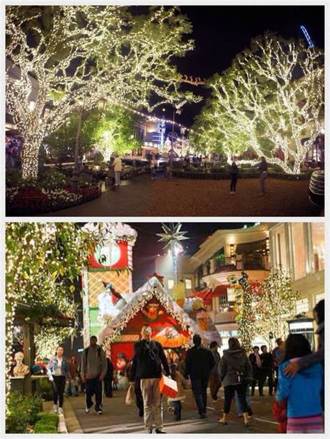 an amazing light show for christmas at the grove in los