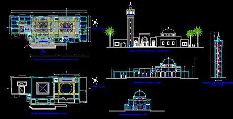 turkish mosque dwg block  autocad designs cad