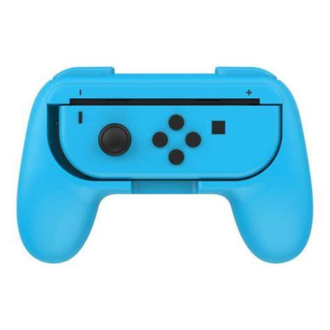 Original Nintendo Switch Con Controller Blue dobe controller grips for nintendo switch con 2 pack blue and