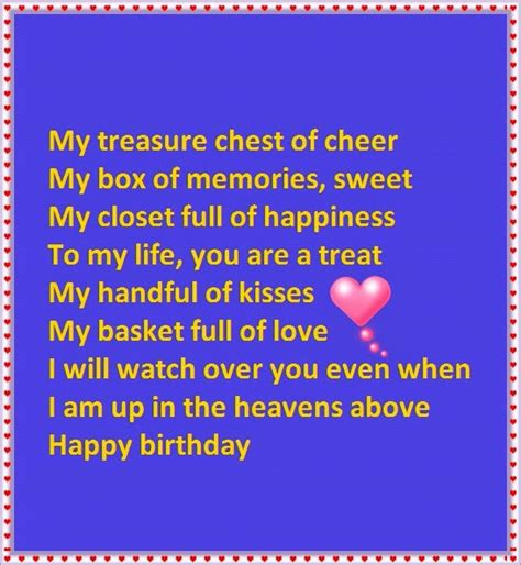 birthday wishes poems  granddaughter happy birthday wishes