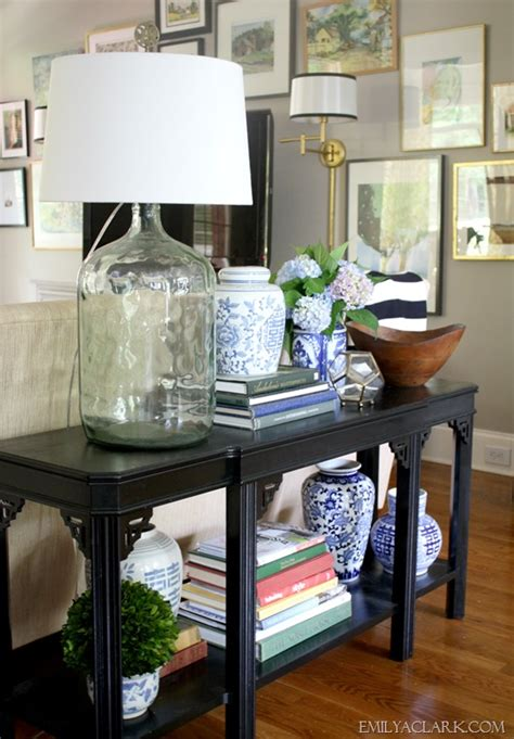 styling a table styling a new to me console table emily a clark