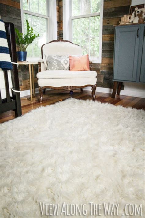 how to make a faux fur rug white fur carpet carpet vidalondon