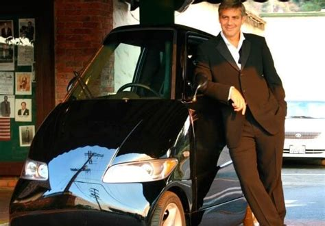 George Clooney To Drive Smart Car by How To Become An A Lister Go Electric Your Energy