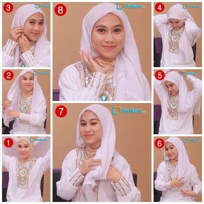 tutorial hijab segitiga untuk lebaran tutorial hijab untuk idul fitri 2