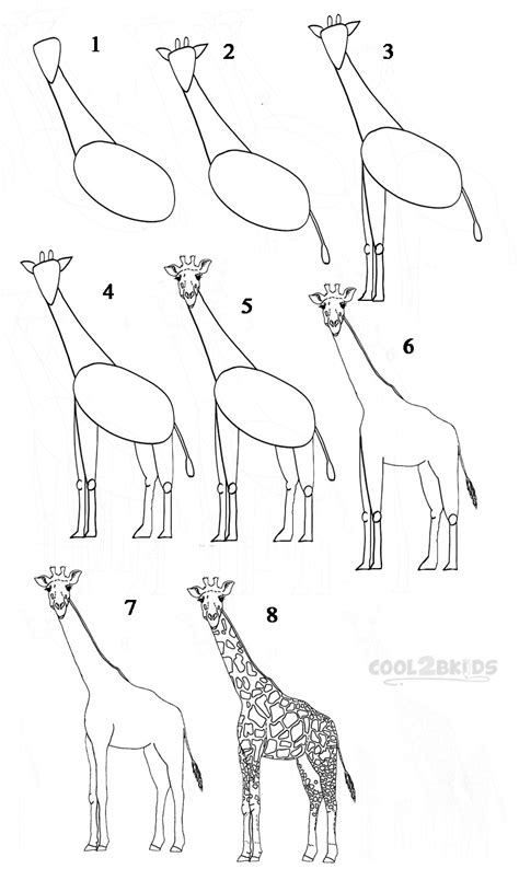 how to draw a giraffe doodle how to draw a giraffe step by step pictures cool2bkids