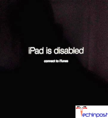 [fixed] ipad is disabled connect to itunes apple device