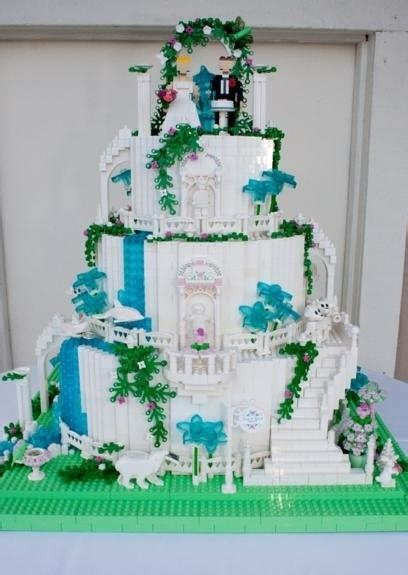 lego creations tutorial how to build a lego wedding cake or cake for other event