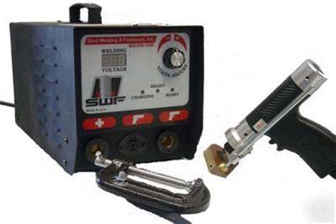 swf cd 22 capacitor discharge stud welder 1 4 quot max dia