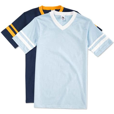 Sleeve Stripe T Shirt custom augusta sleeve stripe jersey t shirt