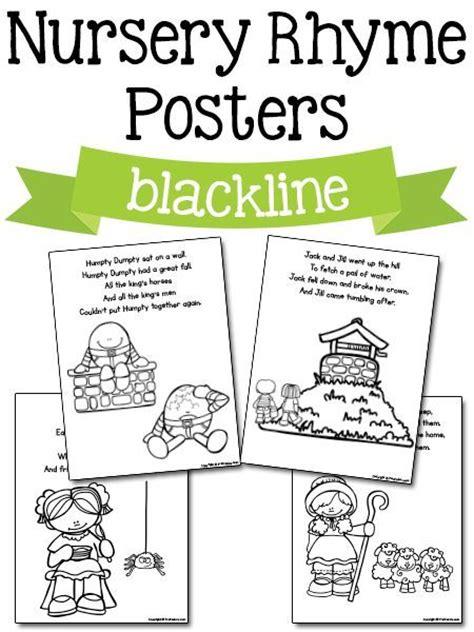 printable preschool rhyming activities nursery rhyme printables free printables nurseries and