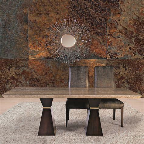travertine marble dining table clara walnut travertine marble large dining table robson