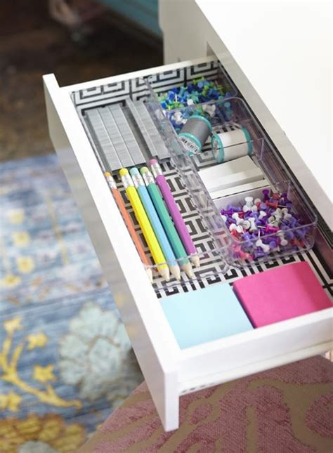 Diy Desk Drawer 25 Best Ideas About Desk Drawer Organizers On College Desk Organization Room