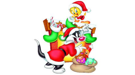 xmas tunes looney tunes show and santa arrival aroundyou