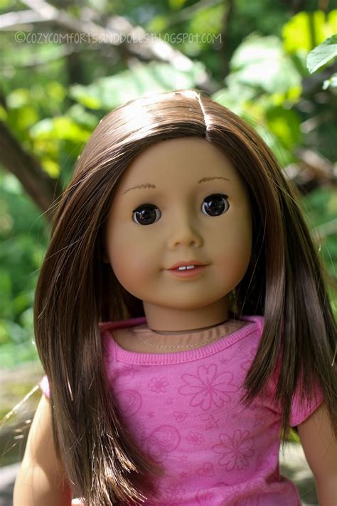cozy comforts and dolls my american girl doll 59 greta
