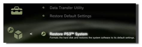 reset old ps3 video settings how to transfer all your information to a new ps3
