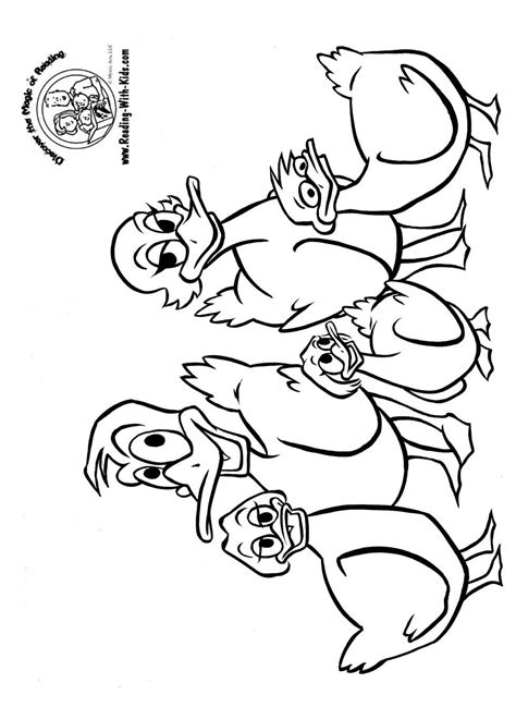 little duck coloring page little ducks colouring pages