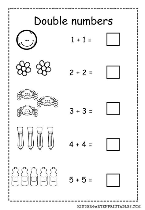 printable worksheets for halving numbers double numbers worksheet free printable adding double