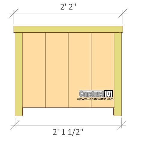 planter box plans planter box plans pdf construct101