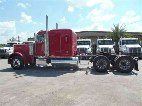 peterbilt 379 extended 2000 sleeper semi trucks