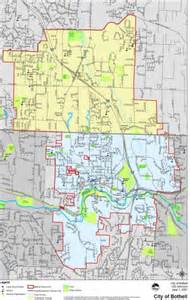 city limits map bothell city limits the bothell