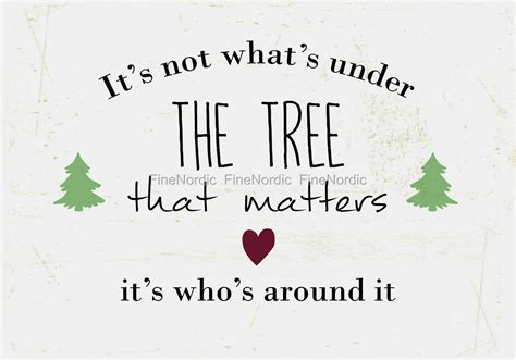 charlie brown christmas its not whats under the tree quote ib laursen metal sign it s not what s the tree that matters