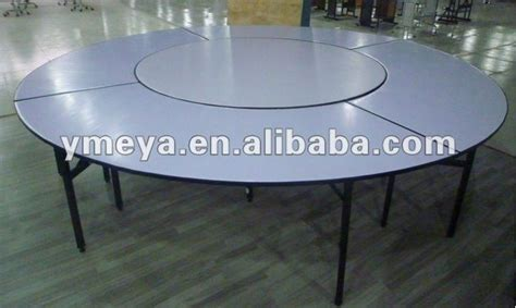 hotel furniture folding banquet table used