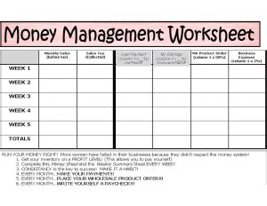 money management template 7 best images of weekly home money worksheets printable