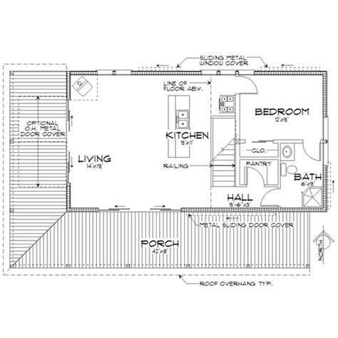 house plan 452 3 a cabin plan that packs a powerful