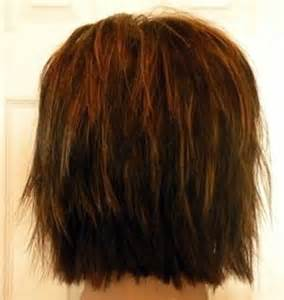 meidum hair cuts back veiw shaggy hairstyles back view for women hairstylegalleries com