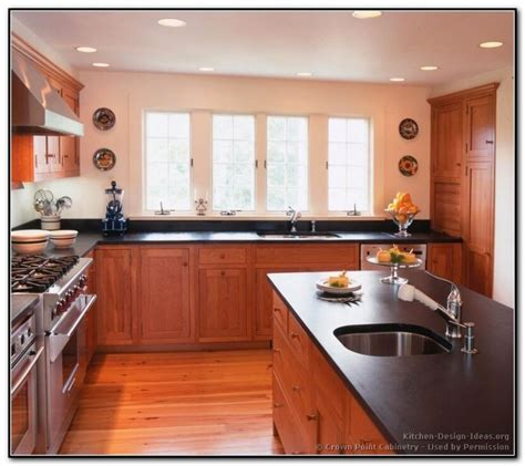 red cherry cabinets kitchen red kitchen walls cherry cabinets www imgkid com the