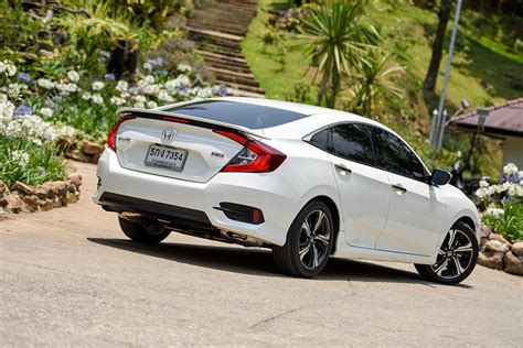 honda white car honda civic turbo review a tenth situation