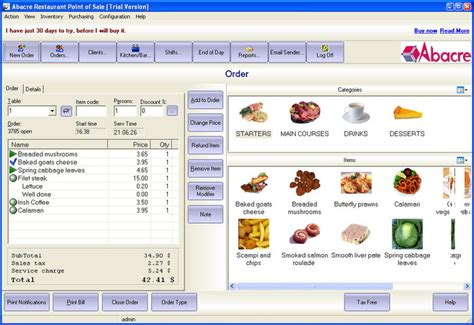 free full version pos software download abacre restaurant point of sale download