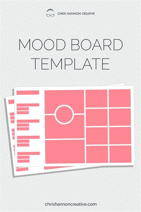 write   design mood board mood board template
