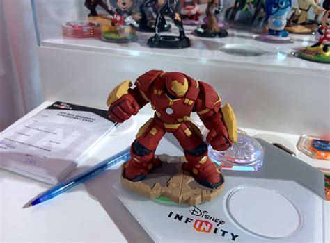 Disney Infinity Marvel Ultron 30 Edition sdcc 2015 hitting the box speedway with disney