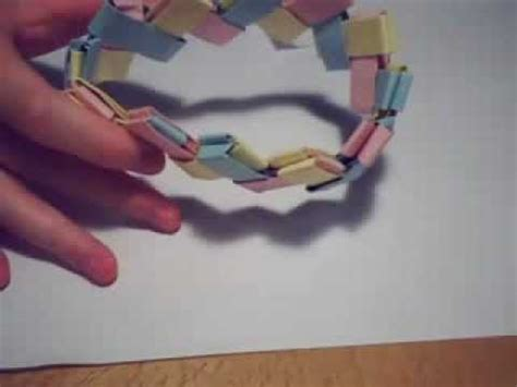 Origami Chain Link - chain link bracelet origami