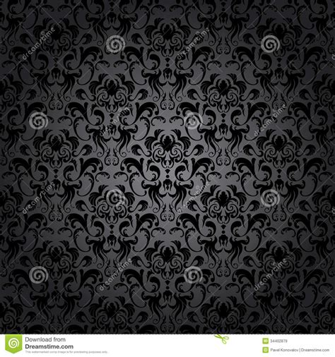 vector pattern maker damask seamless royalty free stock images image 34402879