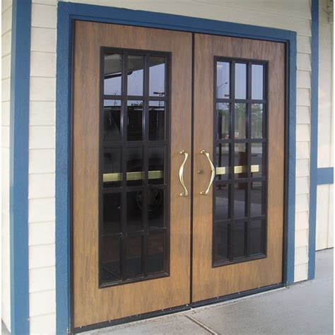 commercial swinging door eliason corp easy swing door div commercial double