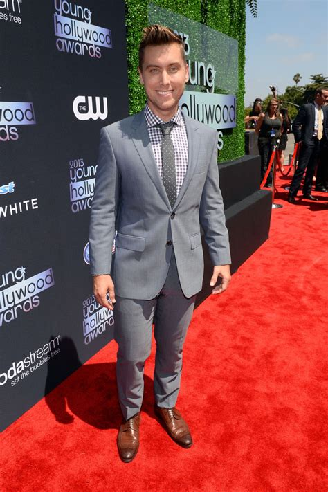 michael lance the carpet lance bass in 2013 awards presented by