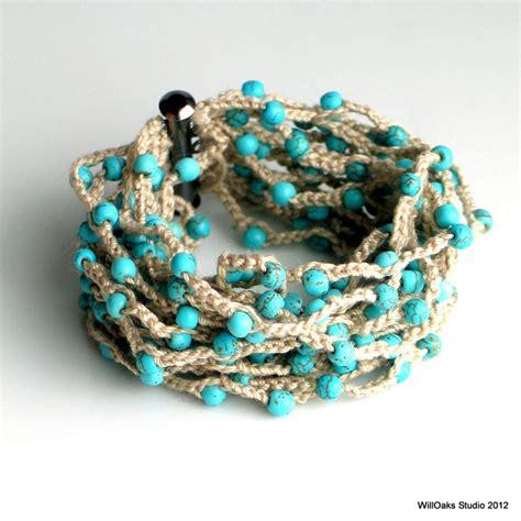 crochet bead bracelet 25 best ideas about crochet beaded bracelets on