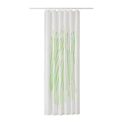 bamboo curtains ikea ikea dramselva fabric shower curtain green bamboo pattern