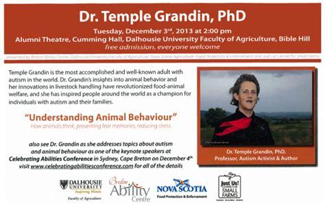 Temple Grandin Worksheet by Dr Temple Grandin Understanding Animal Behaviour