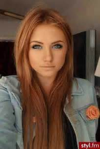 Blonde highlights with muddy red brown hair color pictures photos