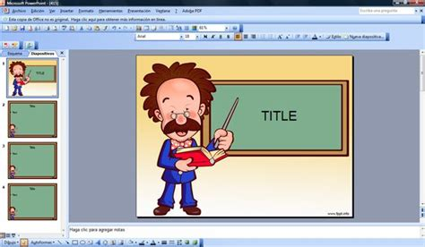Teachers Powerpoint Template Free Powerpoint Template For Teachers