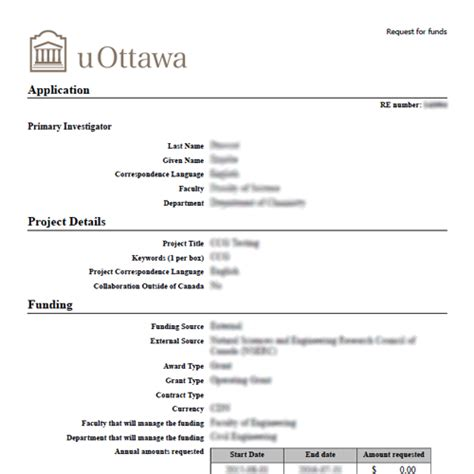U Form by Home Research Management Services Of Ottawa