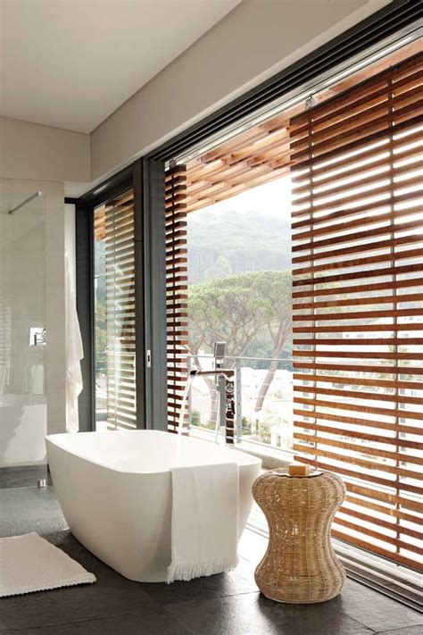 Modern Bathroom Blinds 18 Best Wooden Blinds And Shutters Images On