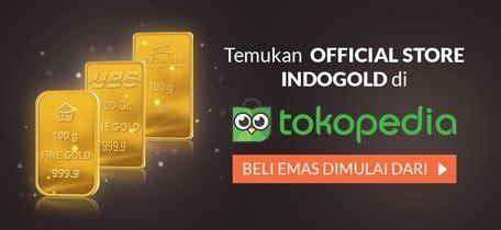 Emas Murni Ubs 0 5 Gram Kandungan 99 9 beli logam mulia cek harga emas hari ini indogold tabungan emas