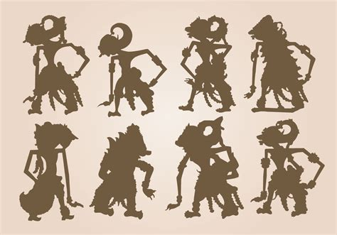 free shadow puppet templates free shadow puppet vector free vector