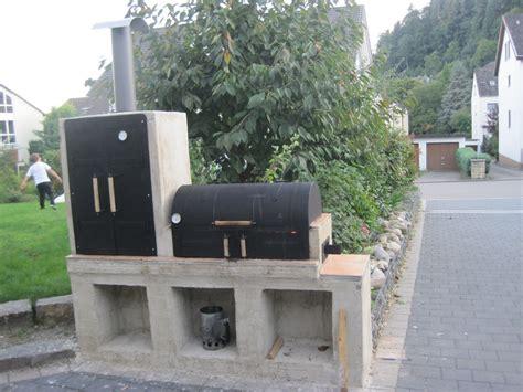 gemauerter smoker grill eigenbau gemauert haus design m 246 bel ideen und